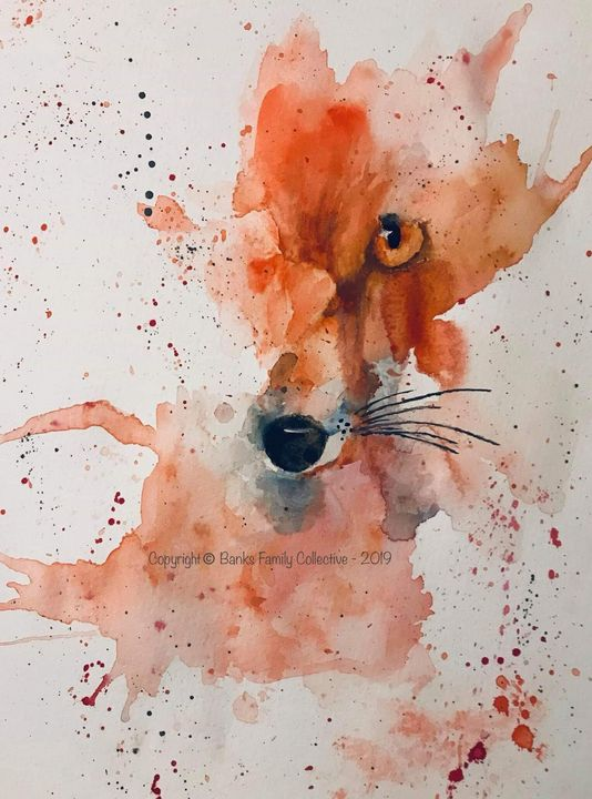 Crimson fox - Banks