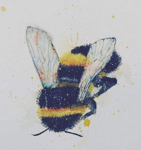Watercolour Bumblebee
