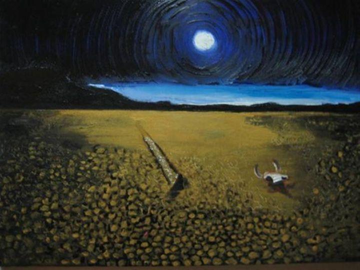Night at desert - jovan cavor