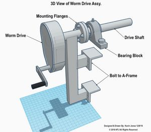 Worm Drive Assy