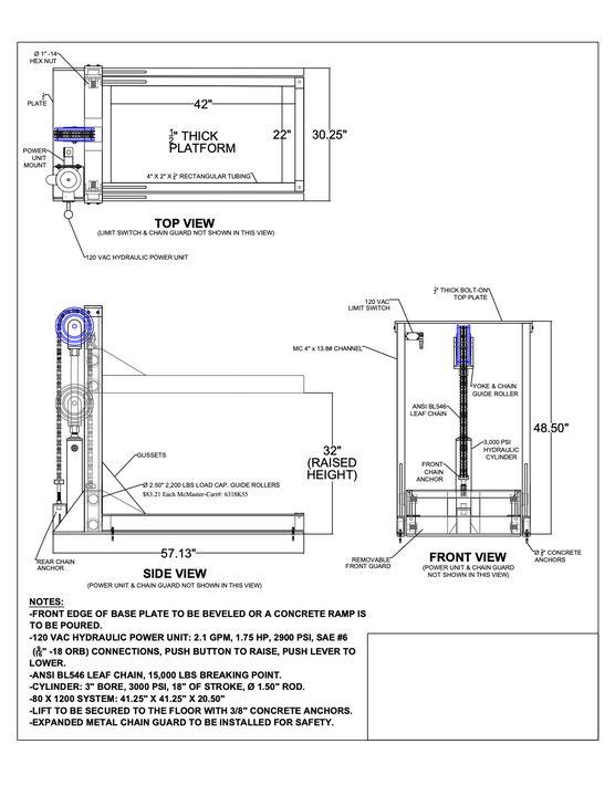 Low Profile Lift Platform - Kevin Jones