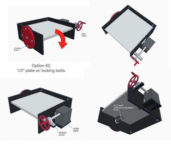Turbomolecular Pump Rotisserie - Kevin Jones