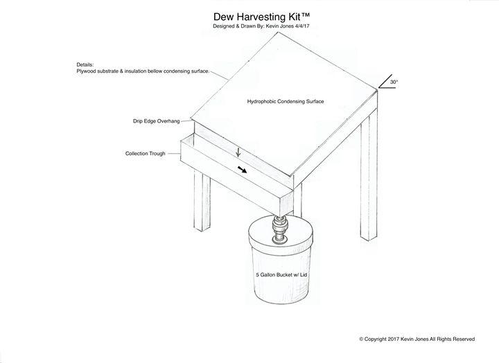 Dew Harvesting Kit© - Kevin Jones