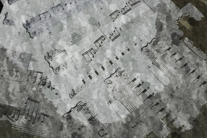 Sheet Music - Star Art