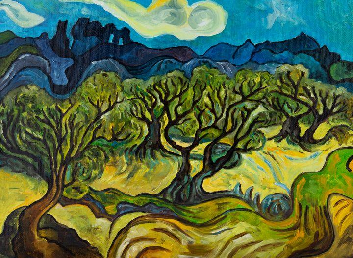 Olive trees - SL