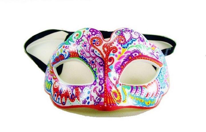 mask, carnival decorative - voicivoilà