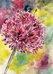 watercolor, aquarelle,fleur,