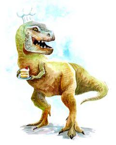 Dinosaur Dessert