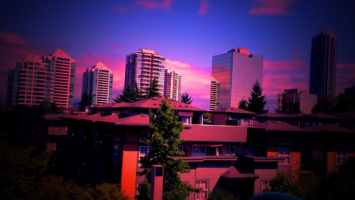 Over looking the city - mc designs