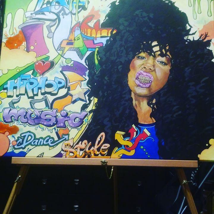 Hip Hop Graffiti - Park Visuals