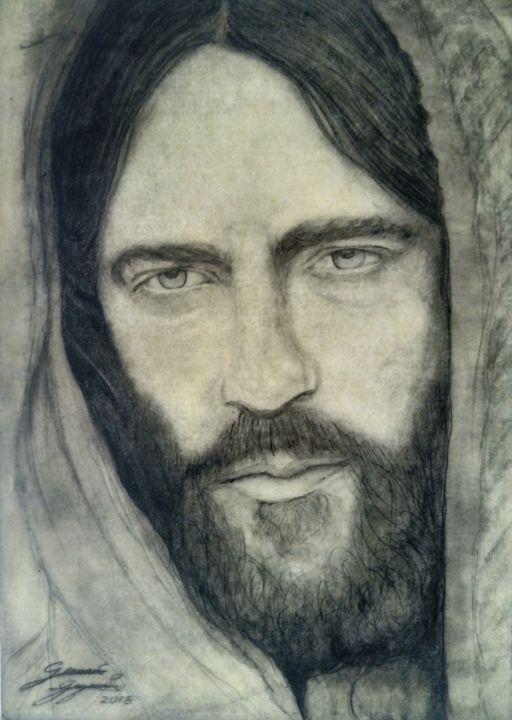 Jesus portrait - Juan Guzmán Messages