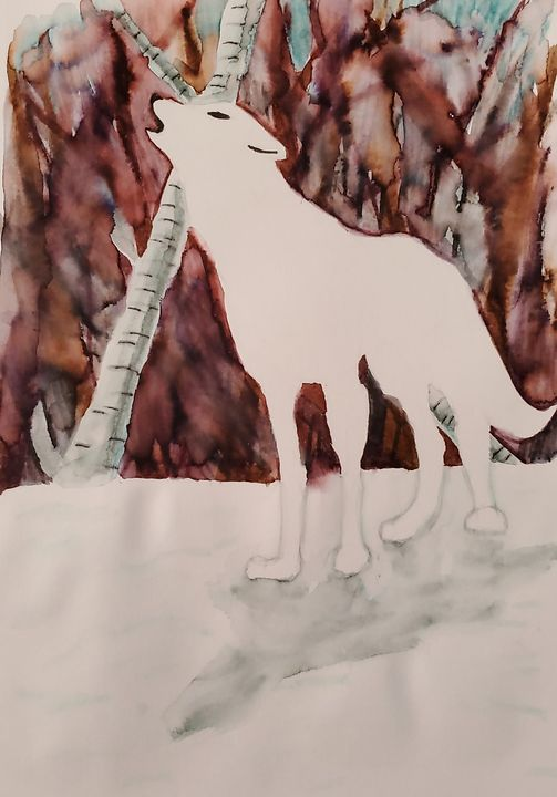 White Wolf - FFleuryArt