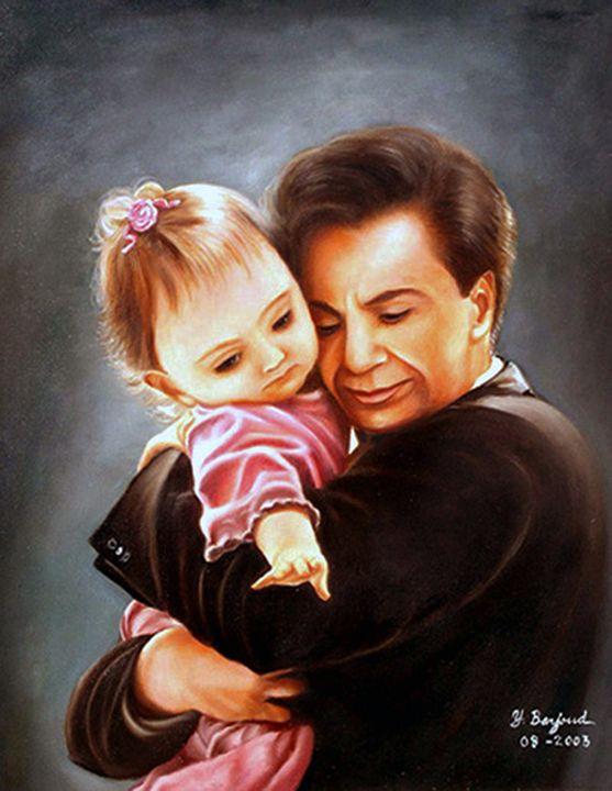 Father and Child - Yolanda Barjoud Originals