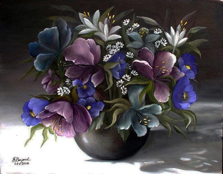 Shades of Purple - Yolanda Barjoud Originals