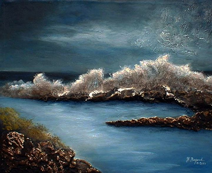 The Big Wave - Yolanda Barjoud Originals