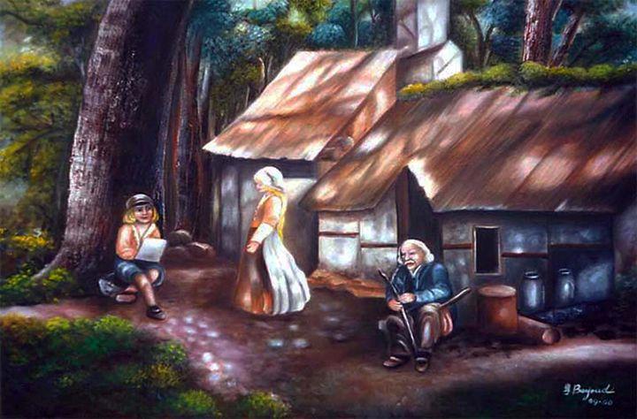 Grandfather's Cabin - Yolanda Barjoud Originals