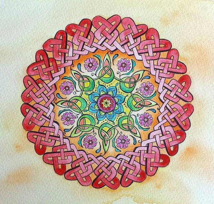 Cetltic Knot Mandala - LozsArt