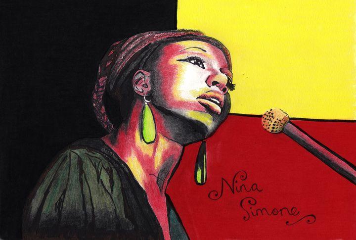 Nina Simone - LozsArt