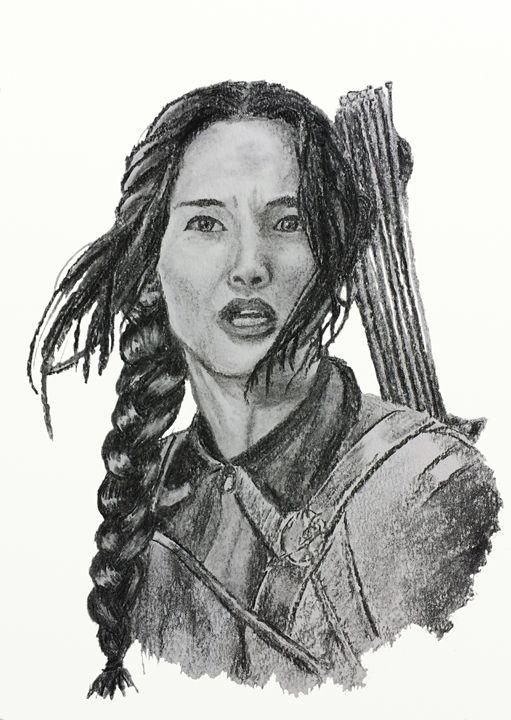 Katniss Everdeen Hunger Games - LozsArt