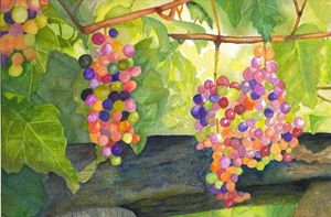 Jelly Bean Grapes - LozsArt