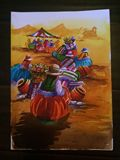 Peruvian Water color Painting