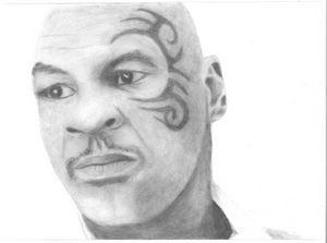 Mike Tyson - Dana E.M. Art