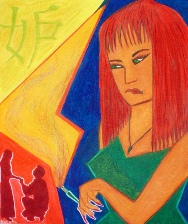 Jealousy - Dana E.M. Art