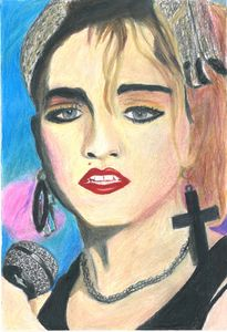 Crazy for You Madonna - Dana E.M. Art