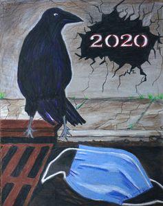 Covid.... A 2020 Artwork - Dana E.M. Art
