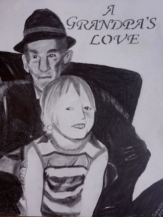 A Grandpa's Love - Dana E.M. Art