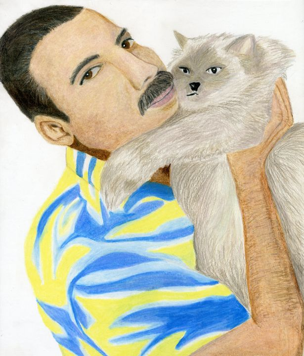 Freddie and Tiffany - Dana E.M. Art