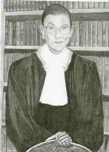 Ruth Bader Ginsburg(a tribute) - Dana E.M. Art