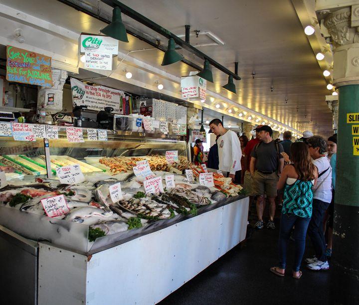 Seattle Fish Market 7 - 727 Jazz & Co