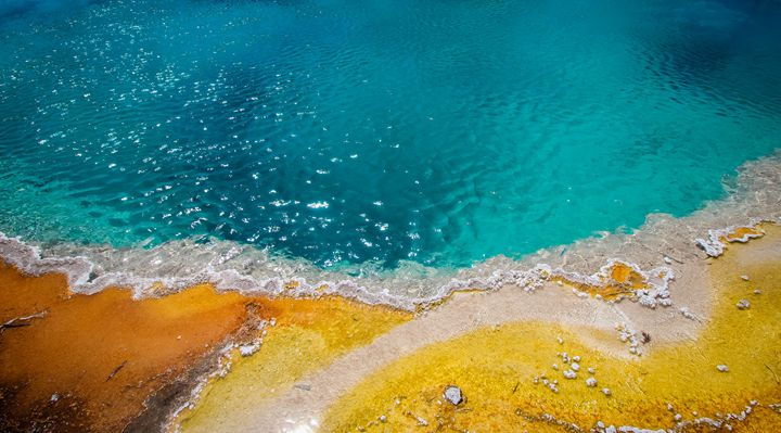 Geyser Pools of Yellowstone 3 - 727 Jazz & Co