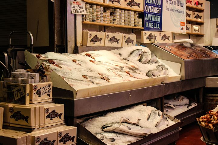 Seattle Fish Market 4 - 727 Jazz & Co