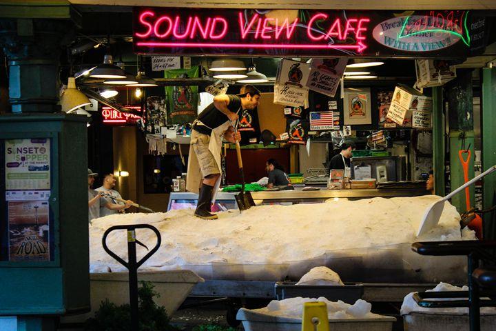 Seattle Fish Market 6 - 727 Jazz & Co
