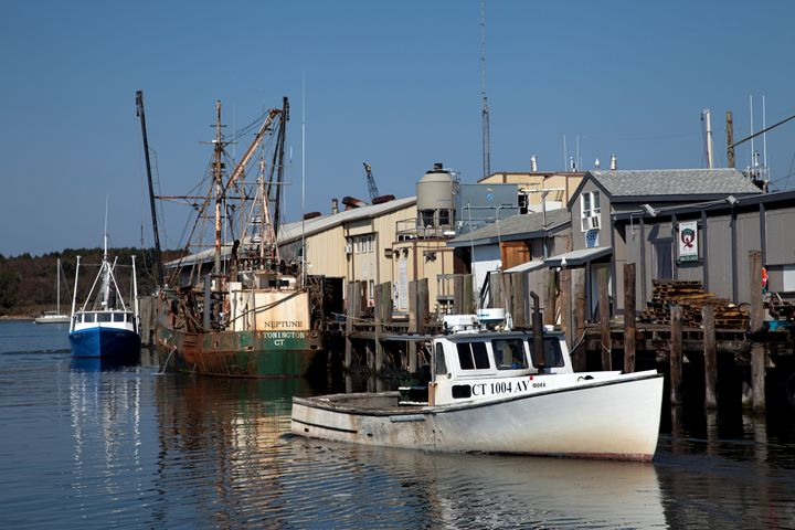 Connecticut Harbor Long Island Sound - FASGallery/ArtPal