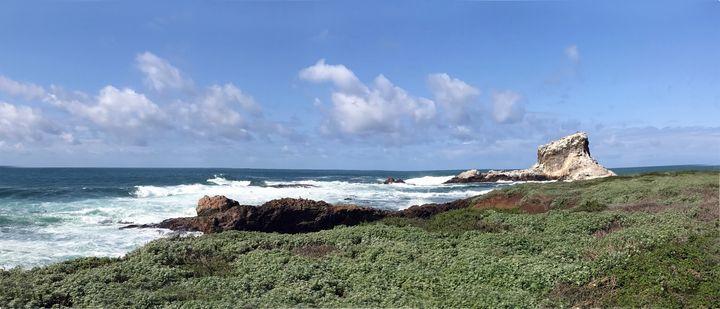 White Rock Off Piedras Blanca - FASGallery/ArtPal