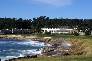The Clubhouse at Pebble Beach - FASGallery/ArtPal
