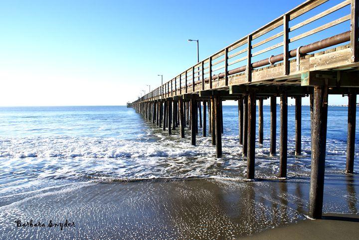 Pier At Avila Beach California - FASGallery/ArtPal