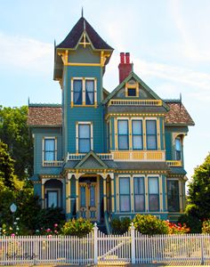 Pitkin Conrow Victorian Mansion - FASGallery/ArtPal