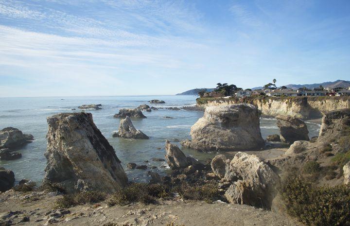 Hazy Lazy Day Pismo Beach California - FASGallery/ArtPal