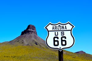 Route 66 To Oatman Arizona - FASGallery/ArtPal
