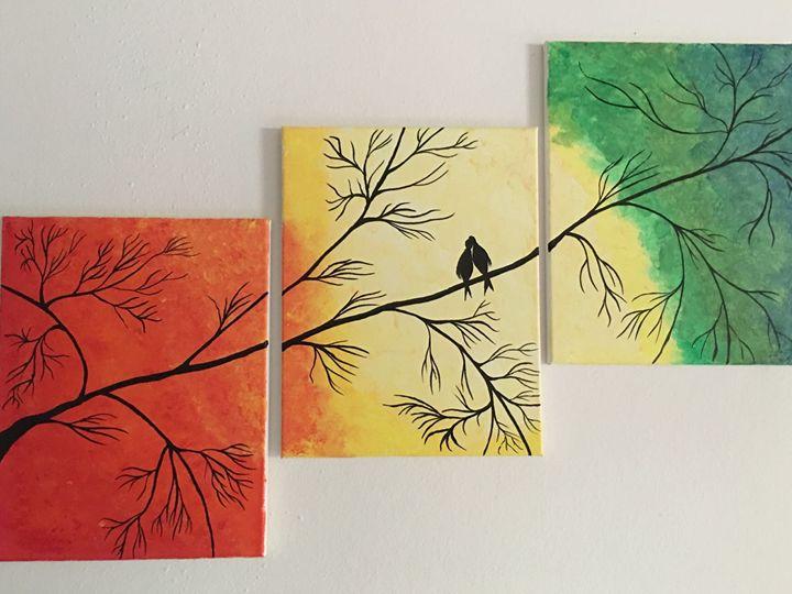 love birds - Heart of Aayushi
