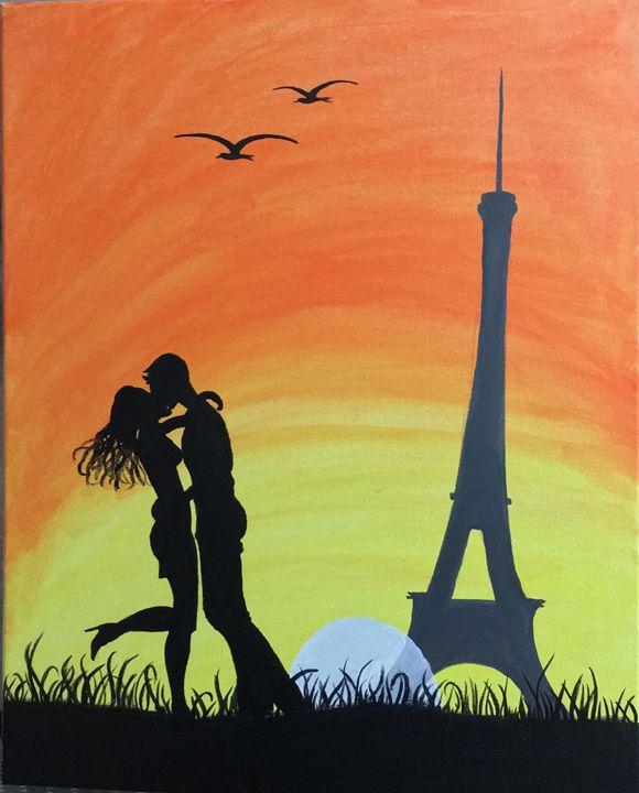 love in paris - Heart of Aayushi