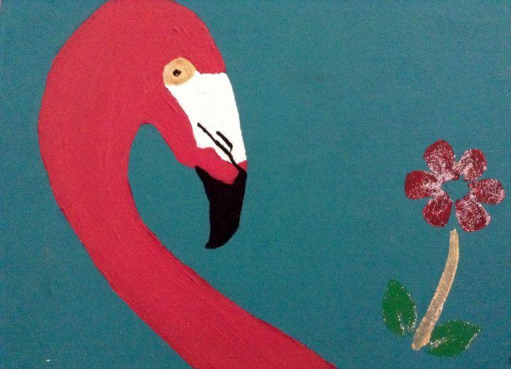Pinky Flamingo - Danielle's Gallery!