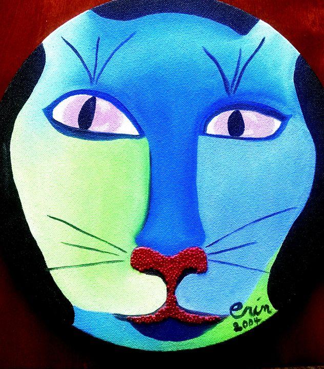 Kitty Kitty - eel art / Erin Lanier