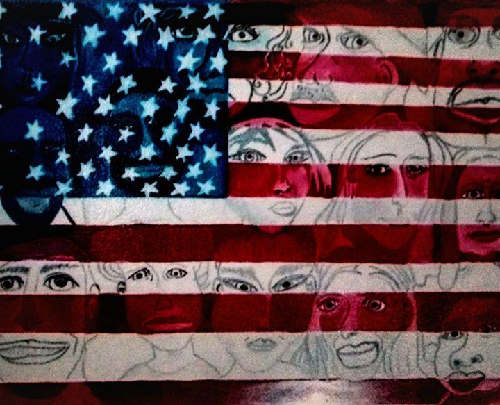 freedom hope it comes soon worldwide - eel art / Erin Lanier