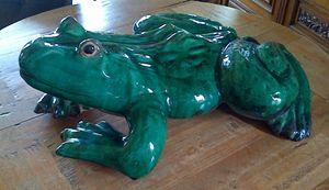Ceramic Frog - Redbusart