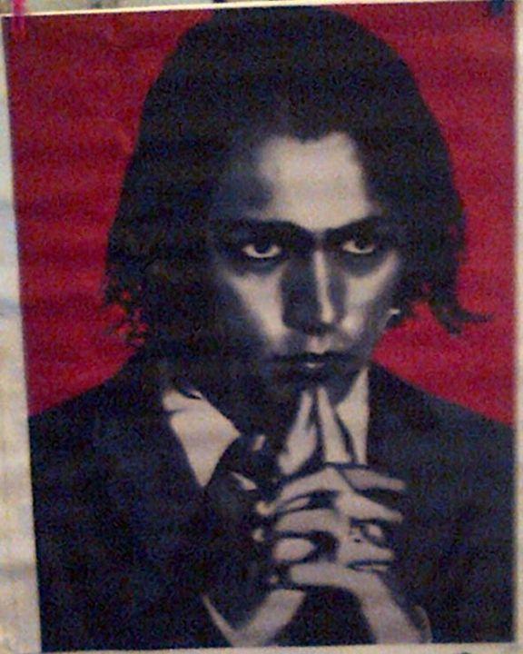 Johnny Depp - Redbusart